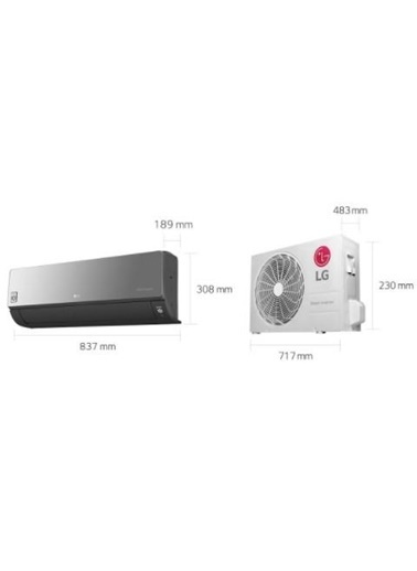 LG LG Artcool S3-M12JARZA A++ 12000 BTU Inverter Duvar Tipi Klima Renkli